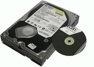 DATALABS лаборатория восстановления данных: жесткий диск фирмы Western Digital, в корпусе которого есть отверстие для доступа воздуха